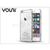 Vouni Apple iPhone 6/6S hátlap kristály díszitéssel - Vouni Crystal Bloom - silver