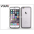 Vouni Apple iPhone 6/6S szilikon hátlap - Vouni Duo - crystal white/gun black