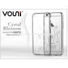 Vouni Apple iPhone 6 Plus/6S Plus hátlap kristály díszitéssel - Vouni Crystal Blossom - silver