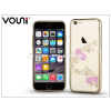 Vouni Apple iPhone 6 Plus/6S Plus hátlap kristály díszitéssel - Vouni Crystal Fragrant - champion gold