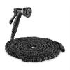 Waldbeck Flex 22 flexibilis kerti locsolócső, 8 funkció, 22,5 m, fekete