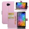 WALLET notesz tok / flip tok - RÓZSASZÍN - asztali tartó funkciós, oldalra nyíló, rejtett mágneses záródás, bankkártyatartó zseb, szilikon belsõ - Xiaomi Mi Note 2