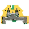 Weidmuller Ipari sorozatkapocs PE WPE 2.5Nmm2 Zöld sárga 1016200000  - Weidmuller