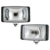 WESEM Ködlámpa, szögletes, fehér, szúró fény, védővel 081.31