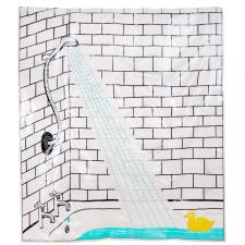 WET WET WET zuhanyfüggöny kacsa lakástextília