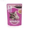 Whiskas alutasakos adult 100 g lazacos