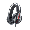 WHITE SHARK GH-1643 COUGAR gaming headset, Fekete (COUGAR)