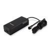 Whitenergy Univerzális notebook AC tápegység 90W + USB, 10 csatlakozó