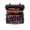 Wiha Competence XXL II villanyszerelő szerszámkészlet Vegyes 115 részes, kofferben (9300-704)
