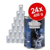 Wild Freedom Adult gazdaságos csomag (24 x 400 g) - Golden Valley - nyúl & csirke