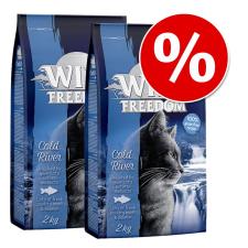 Wild Freedom macska szárazeledel gazdaságos csomag (3x2kg) - Cold River - lazac macskaeledel