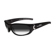 WileyX Napszemüveg Wiley X WX CURVE Light Adjusting Grey Gloss Black Frame-füst szürke