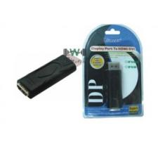WIRETEK átalakító Display port to HDMI audió/videó kellék, kábel és adapter