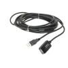 WIRETEK VE368 USB 2.0 hosszabító kábel - 5m - fekete