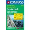 WK 008 - Bayrischzell - Schliersee turistatérkép - KOMPASS
