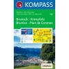 WK 045 - Bruneck - Kronplatz turistatérkép - KOMPASS