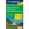 WK 051 - Naturns / Naturno - Latsch / Laces - Schnalstal / Val Senales turistatérkép - KOMPASS