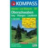 WK 187 - Oberschwaben Isny - Wangen turistatérkép - KOMPASS