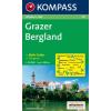 WK 221 - Grazer Bergland turistatérkép - KOMPASS
