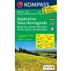 WK 2453 - Appennino Tosco Romagnolo turistatérkép - KOMPASS