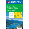 WK 60 - Gailtaler Alpen - Karnische Alpen turistatérkép - KOMPASS