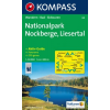 WK 66 - NP Nockberge turistatérkép - KOMPASS