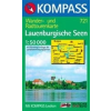 WK 721 - Lauenburgische Seen turistatérkép - KOMPASS