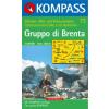 WK 73 - Gruppo di Brenta turistatérkép - KOMPASS