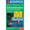 WK 742 - Scharmützelsee-Teupitz-Köriser Seengebiet turistatérkép - KOMPASS