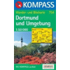 WK 754 - Dortmund és környéke turistatérkép - KOMPASS