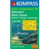 WK 781 - Naturpark Obere Donau turistatérkép - KOMPASS