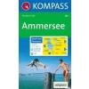 WK 791 - Ammersee-Pilsensee turistatérkép - KOMPASS