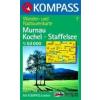 WK 7 - Murnau - Kochel - Staffelsee turistatérkép - KOMPASS