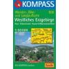 WK 806 - Erzgebirge, Westliches turistatérkép - KOMPASS