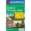 WK 813 - Östlicher Thüringer Wald turistatérkép - KOMPASS