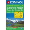 WK 84 - Jungfrau-Region: Thuner und Brienzer See turistatérkép - KOMPASS