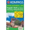 WK 874 - Nagold - Horb turistatérkép - KOMPASS