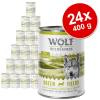 Wolf of Wilderness 24x400g Wolf of Wilderness The Taste of The Mediterranean nedves kutyatáp