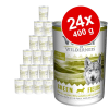 Wolf of Wilderness gazdaságos csomag 24 x 400 g - Oak Woods - vaddisznó