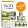 Wolf of Wilderness száraz & nedves kutyaeledel próbacsomag: Adult Oak Woods - vaddisznó