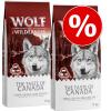 Wolf of Wilderness 'The Taste Of' gazdaságos csomag (2 x 12 kg) - Mix: Canada, Mediterranean