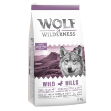 Wolf of Wilderness Wild Hills - kacsa - 400 g kutyaeledel