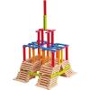 Woody Toys vödör természetes / color - Emma, 200 db