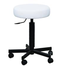 Worker Lift Medica laborszék fehér textilbőrös ülőfelülettel bútor