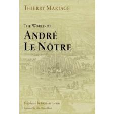 World of Andre Le Notre – Thierry Mariage idegen nyelvű könyv