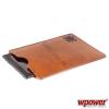 WPOWER 7'' Műbőr Tablet PC tok, barna
