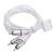 WPOWER WPOWER Apple kompozit AV kábel 1.5m, fehér, V6.12