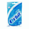 Wrigleys Orbit Wrigley's Orbit Bag cukormentes rágógumi 35 g peppermint kék 25 db-os