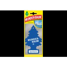 WUNDERBAUM Fenyőfa alakú Sport illatosító illatosító, légfrissítő