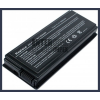 X50 series 4400 mAh 6 cella fekete notebook/laptop akku/akkumulátor utángyártott